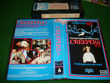 Vhs *CREEPERS* 1986 Palace Explosive Release - Cult Argento Adult Horror Classic