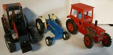 Three Britains Farm Tractors Volvo BM Ford 7000 & Valmet