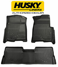 HUSKY WeatherBeater Floor Mats for CHEVY SILVERADO GMC SIERRA CREW CAB 98201