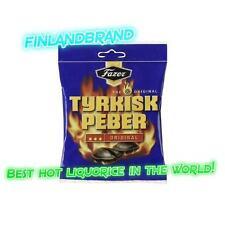 Fazer Tyrkisk Peber 150g Hot Liquorice Licorise Salmiakki Finland