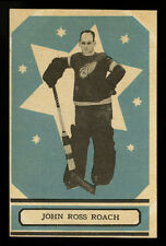 1933-34 V304A O-PEE-CHEE SERIES A~#53~JOHN ROSS ROACH~GOALIE SHARP RED WINGS
