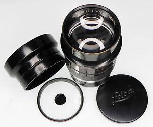 Leica SM 9cm f2.2 Thambar  #472152 ........... Rare !!