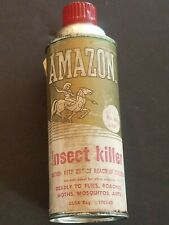 Vintage Amazon Insect Killer Aerosol Can By Trio Chemical Works