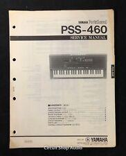 Original Yamaha PortaSound PSS-460 Keyboard Service Manual
