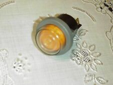 CPX-2116-N. Waterproof light, Button switch / lock / 250VAC, Orange, NEW!