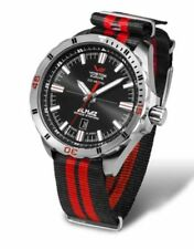 Relojes de pulsera fecha Vostok de cuero