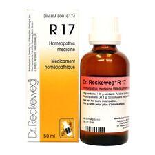 Dr. Reckeweg R17 gotas de crecimiento tisular anómalo remedio homeopático