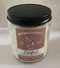 Bath & Body Works Aromatherapy Comfort Scented Candle Vanilla Patchouli New