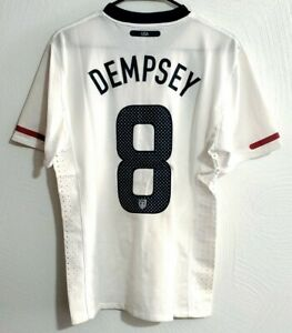 Nike USA Dempsey 2010 Player Issue Home Jersey / Shirt - (Size M)