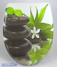 WC-Sitz Toilettendeckel Orchidee Blume mit Absenkautomatik und Abnehmbar-32