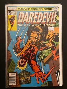 Daredevil 143 High Grade Marvel Comic Book CL53-105