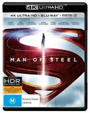 DC Superman Man Of Steel 4K Ultra HD HDR Blu-ray BRAND NEW SEALED
