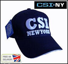 Con Licencia Azul Csi New York City Cap escena del crimen investigación Ny policía Nyc Sombrero