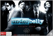 Underbelly Triple Shot DVD A Tale Of Two Cities, The Golden Mile 1 2 3, 14 Discs