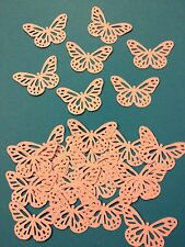 25 Lilac butterflies wedding crafts, scrapbooking, table confetti