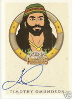 Hercules Xena Timothy Omundson as Eli Autograph auto insert trading card