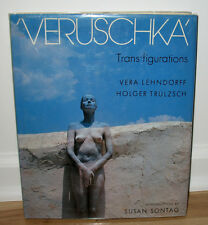 SIGNED Vera Lehndorff Veruschka Trans-figurations Model Blow Up Susan Sontag HC