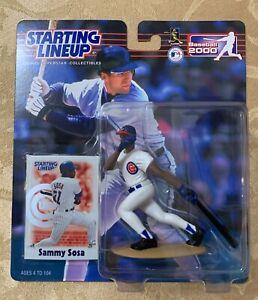 Starting Lineup MLB 2000 - Sammy Sosa Baseball Figure - CHICAGO CUBS BRAND NEW!