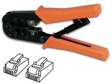 PINCE A SERTIR POUR CONNECTEURS MODULAIRES RESEAU 6P4C RJ11 6P6C RJ12 8P8C RJ45