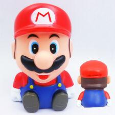 Super Mario Sitting Bros Coin Piggy Money Bank Red