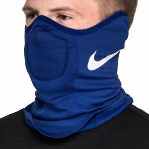 Nike Strike Snood Winter Face Warmer Mens Blue Size L/XL Sportswear Football