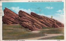 (ph5) Denver Mountain Parks CO: Road Thru the Red Rocks