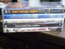 (5) How I Met Your Mother Season DVD Lot: Seasons 2, 3, 4, 5 & 7