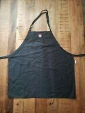 Wendy's Apron One Size Fits All Black Gray by Barco Uniforms