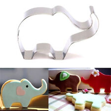 Stainless Steel Cookie Cutter Cake Baking Mould Biscuit Elephant Mould ☆
