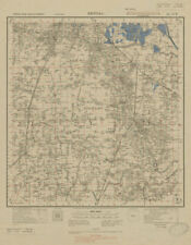 Asia Maps Smart India North; Howrah Kolkata 1900 Old Antique Vintage Map Plan Chart
