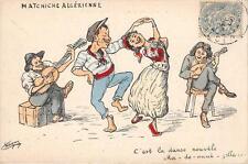 CPA ILLUSTRATEUR CHAGNY MATCHICHE ALGERIENNE C'EST LA DANSE