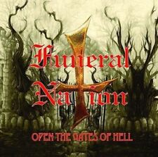 Funeral Nation - Open the Gates of Hell [New CD] Free Sticker Metal Bastard Rec.