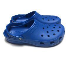 Crocs Classic Clogs Blue Mens Size 13 Cobalt Blue Comfort Roomy Slip On