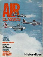 Air Classics July 71 P-47 Thunderbolt Val Dive Bomber Israeli Air Force Canada