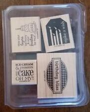 Stampin' Up! BIRTHDAY BLISS Tags Labels Cake Ice Cream NEW ~ For Cards and Tags