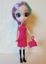 "SHIBAJUKU GIRLS 6"" MINI Doll Clothes Pink Dress Purse Jewelry NO DOLL dolls4emma"