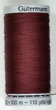 Gutermann Extra Strong Polyester Thread Colour 369 Wine 100m Spool