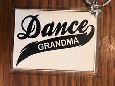 Cheerleading Keychain with Dance Grandma