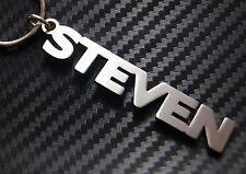 Steven personalizzato con nome portachiavi CHIAVE SU MISURA ACCIAIO INOX REGALO