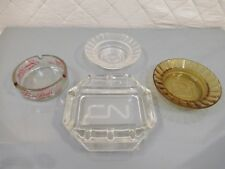 Ash Tray Lot CN Rail Best Western Harrahs Jessie Beck's Casino Reno Vintage