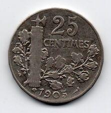 France - Frankrijk - 25 Centime 1905