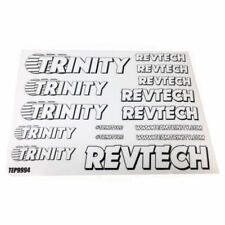 Trinity Revtech Sticker Sheet (2) (White) TEP9994 HOT!!! NEW!!!