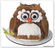 OWL Bird Party CAKE Topper Decoration Birthday Cupcake Animal Fingeroos Pets NEW