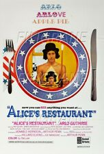 ALICE'S RESTAURANT FILM Rzis-POSTER/REPRODUCTION 70x90cm* d1 AFFICHE CINéMA