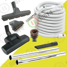 Central Vacuum Air Driven Turbo brush 35' Hose and Accessories Kit