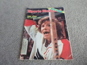 Sports Illustrated Bobby Clarke Flyers 1976 winter Olympics Dorothy Hamill label