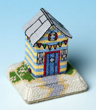 Beach Hut 3D Cross Stitch Kit