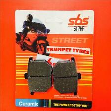 Honda GL 1000 Gold Wing 81 > ON SBS Front Ceramic Brake Pads EO QUALITY 517HF