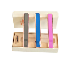 Windproof USB Slim Electric Lighter For Cigarette Cigar Rechargeable Flameless