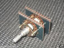 1pcs - TEIKOKU TSUSHIN Rotary 2-Wafer 4-Pole 5-Position SR26PH Select-Switch NOS
